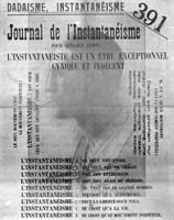 391-19: Journal de l'Instantanéisme - cover